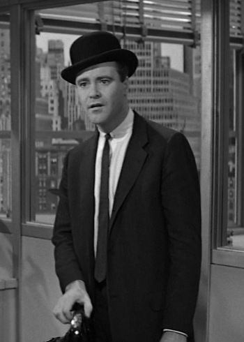 Jack Lemmon as C.C. Baxter in The Apartment (1960)
