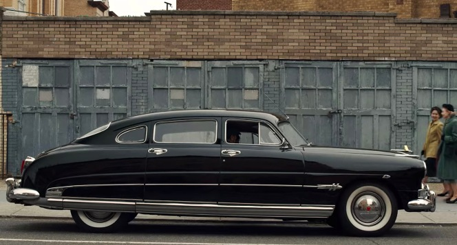 Frank Sheeran's six-year-old Hudson Hornet looks pristine as he glides it through the Philly streets.