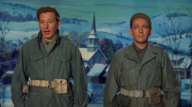 Davis and Wallace can be grateful that the fictional General Waverly was considerably more accepting of jeep caps than the very real General Patton.
