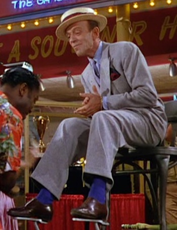 Fred Astaire as Tony Hunter in The Band Wagon (1953)