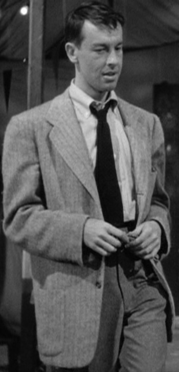 John Dall as Bart Tare in Gun Crazy (1950)