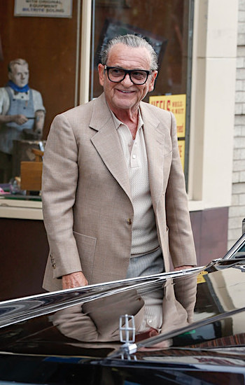 Joe Pesci as Russell Bufalino in The Irishman (2019)