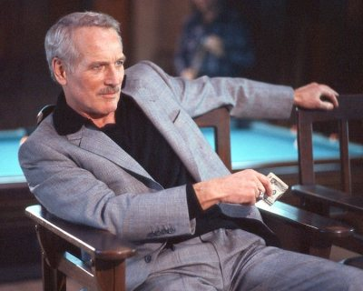 "Paul Newman as ""Fast Eddie"" Felson in The Color of Money (1986)"