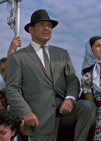 Clark Gable as Mike Hamilton in It Started in Naples (1960)