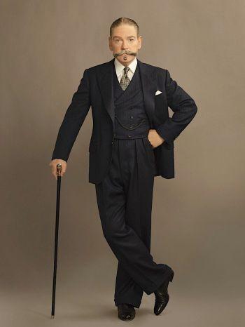 Kenneth Branagh as Hercule Poirot in Murder on the Orient Express (2017)
