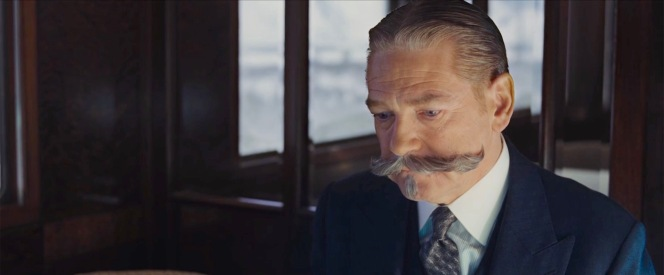 Poirot dismisses Ratchett's offer. Not only is Poirot an investigator rather than a bodyguard, but he has no interest in protecting a shady criminal.