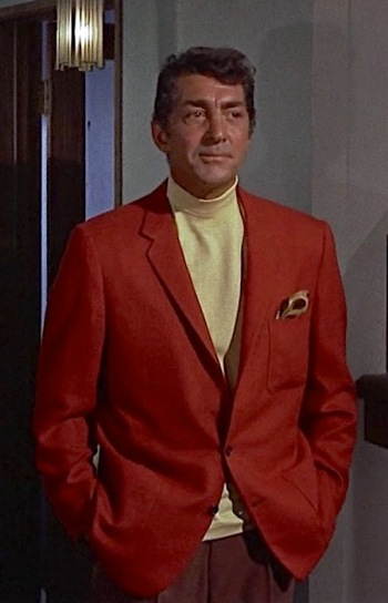 Dean Martin as Matt Helm in Murderers' Row (1966)