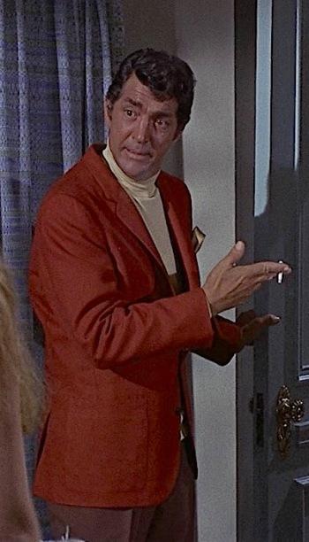 Dean Martin as Matt Helm in Murderers' Row (1966)