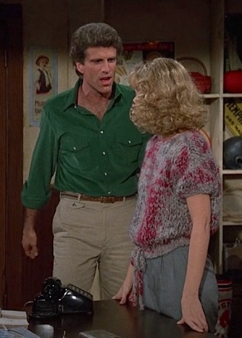 "Ted Danson and Shelley Long on Cheers (Episode 2.10: ""How Do I Love Thee? Let Me Call You Back"")"