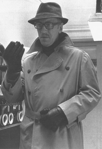 Max von Sydow as Joubert in Three Days of the Condor (1975)