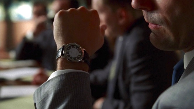 "Long suggested to be a Jaeger-LeCoultre Memovox, Don's first-season watch may be indeed be a Rolex as the markings visible in this screenshot from ""5G"" indicate."