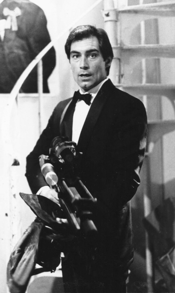 Timothy Dalton as James Bond in The Living Daylights (1987). Source: thunderballs.org.
