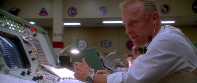 Though not the same model as the real Gene Kranz wore, Ed Harris' period-correct Seiko in Apollo 13 still has associations with the American space program.