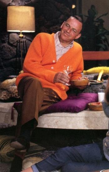 Frank Sinatra as Dan Edwards in Marriage on the Rocks (1965)