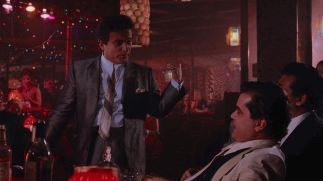 """""""You're supposed to be doin' this stuff, too,"""" Tommy tells Henry... referring to harassing waiters and nightclub owners?"""