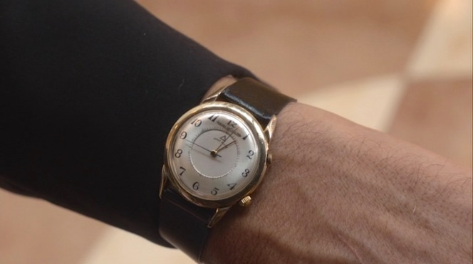 """Ike Evan's Jaeger-LeCoultre as seen strapped to his wrist when wearing one of his black suits in """"Sitting on Top of the World"""" (Episode 2.06)."""