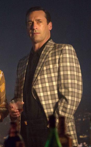 "Jon Hamm as Don Draper on Mad Men (Episode 7.05: ""The Runaways"")"