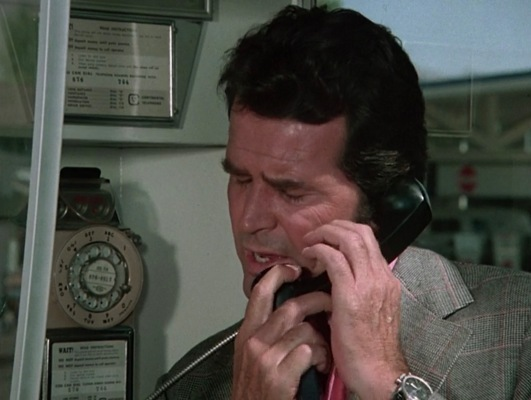 Garner wore his own Heuer Carrera racing watch throughout The Rockford Files, taking a chance that viewers wouldn't be able to discern the actor's own name inscribed on the dial.