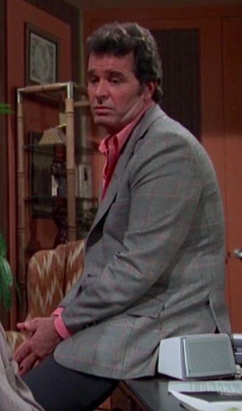 "James Garner as Jim Rockford on The Rockford Files (Episode 2.21: ""Foul on the First Play"")"