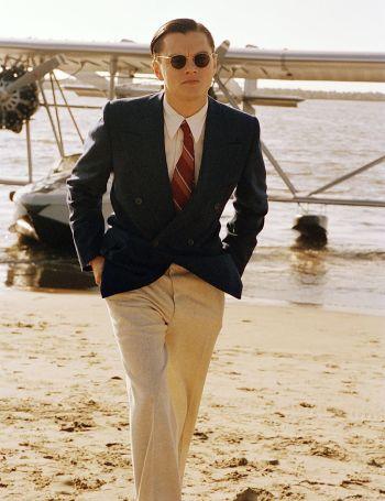 Leonardo DiCaprio as Howard Hughes in The Aviator (2004)