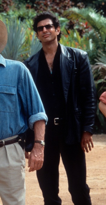 Jeff Goldblum as Dr. Ian Malcolm in Jurassic Park (1993)