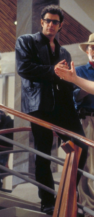 Jeff Goldblum as Dr. Ian Malcolm in Jurassic Park (1993)