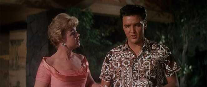 Despite playing his mother on screen, Angela Lansbury was only 36 years old when Blue Hawaii was released... and barely more than nine years older than Elvis!