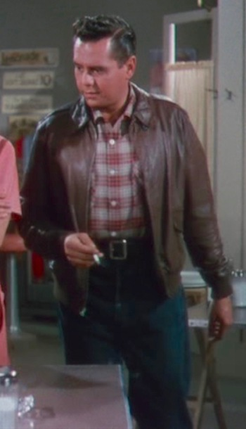 Desi Arnaz as Nicky Collini in The Long, Long Trailer (1954)