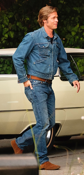 Brad Pitt as Cliff Booth in Once Upon a Time... in Hollywood (2019)