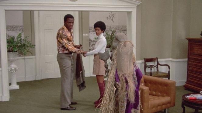 Matt spies the costume from Torunda that Catherine gifted to his daughter Stefanie.
