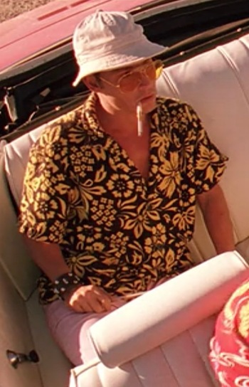 Johnny Depp as Raoul Duke in Fear and Loathing in Las Vegas (1971)
