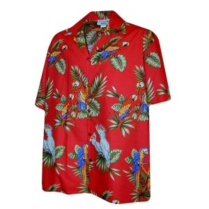 Parrots Hawaiian Shirt from Pacific Legend