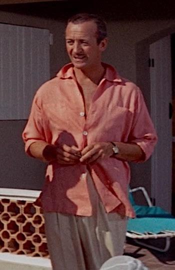 David Niven as Raymond in Bonjour Tristesse (1958)