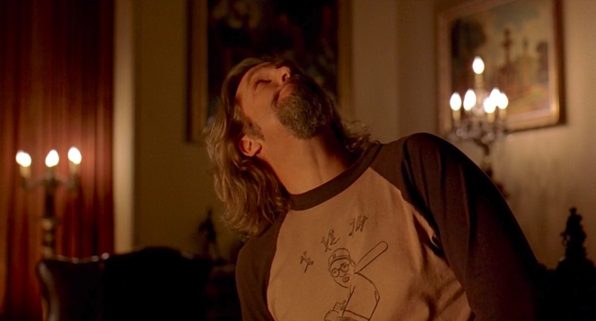 """The Dude checks out the """"Big"""" Lebowski's digs."""