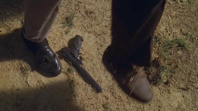 Tony's tassel loafers vs. Febby's boat shoes.