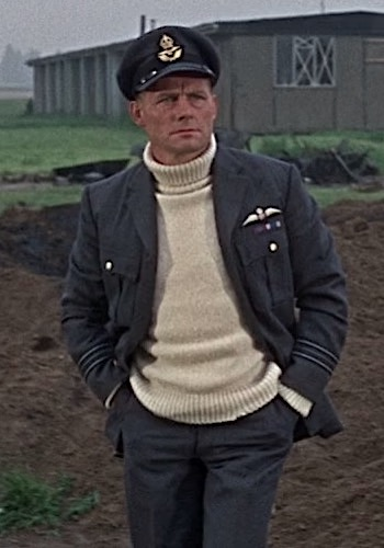 "Robert Shaw as RAF Squadron Leader ""Skipper"" in Battle of Britain (1969)"