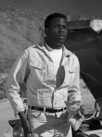 Sidney Poitier as Homer Smith in Lilies of the Field (1963)