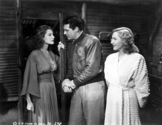 Some men find themselves between the proverbial rock and a hard place. Others find themselves between Rita Hayworth and Jean Arthur.