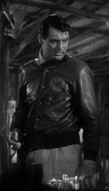 Cary Grant as Geoff Carter in Only Angels Have Wings (1939)