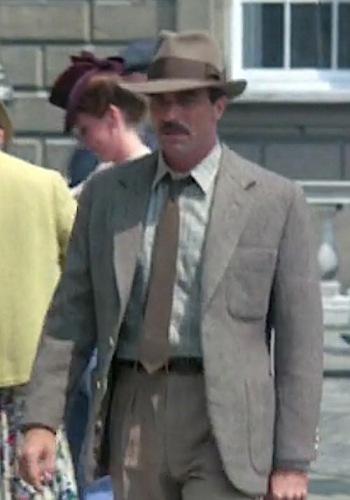 Tom Selleck as Nick Lassiter in Lassiter (1984)